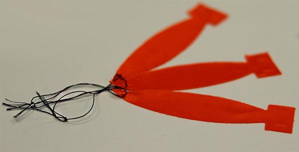 flame effect ribbon