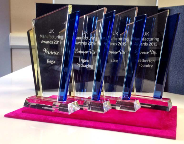 UK Manufacturing Awards - RH Nuttall Ltd