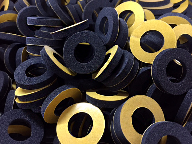 Polyethylene Foam Washers - PE Foam Washers - RH Nuttall Ltd