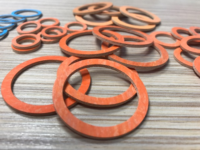 Novus Washers - Orange Fibre Washers - RH Nuttall Ltd