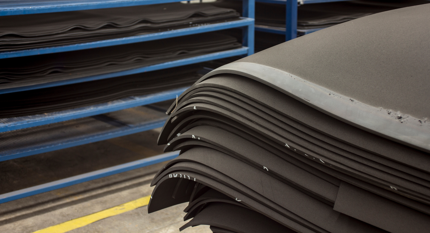 EPDM Sponge Sheet - RH Nuttall Ltd
