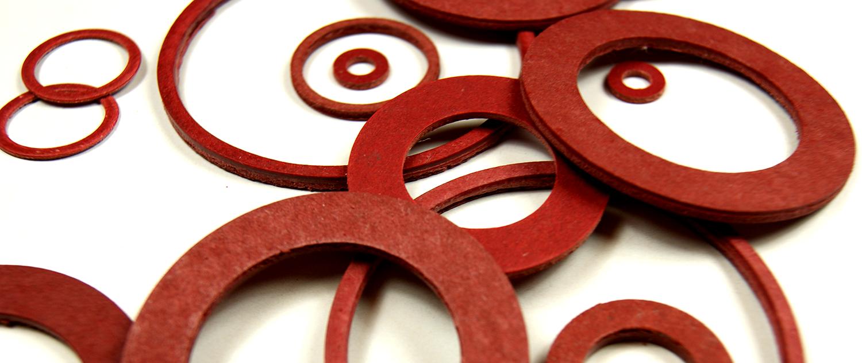 Fibre Washers (Red & Black) - RH Nuttall Ltd