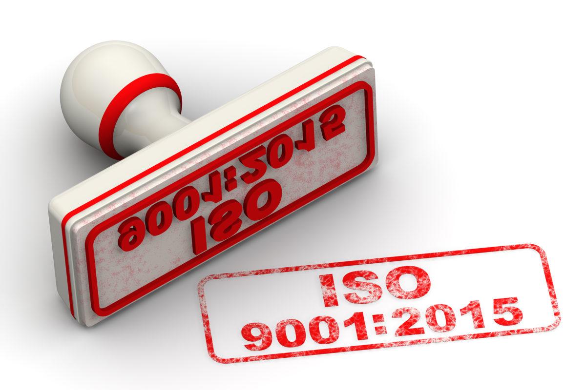 ISO 9001:2015 - RH Nuttall Ltd
